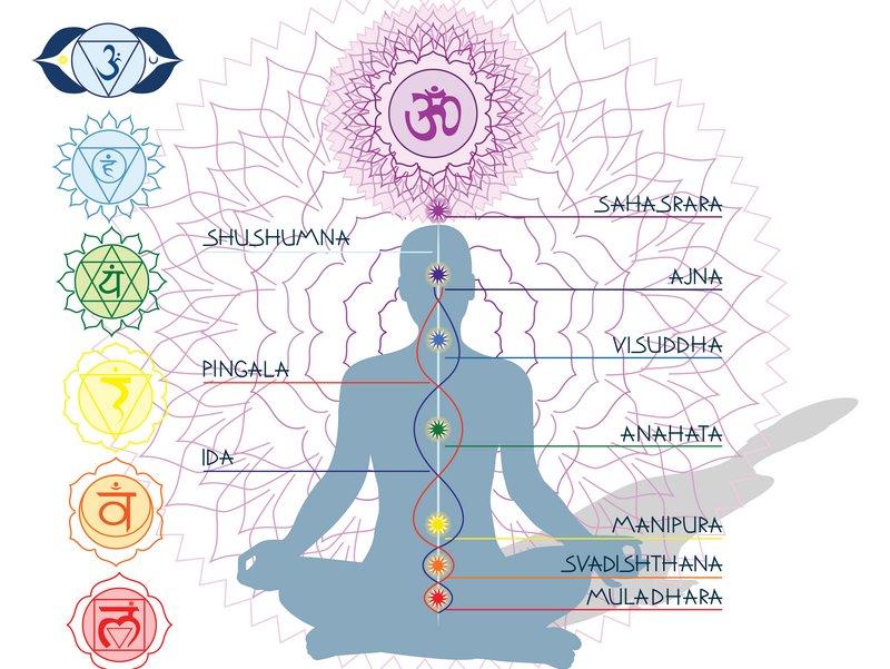 Le corps énergétique et 7 chakras principaux